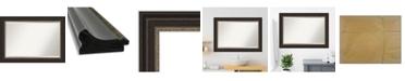 "Amanti Art Impact Framed Bathroom Vanity Wall Mirror, 42.25"" x 30.25"""