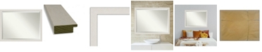 "Amanti Art Rustic Plank Framed Bathroom Vanity Wall Mirror, 43.38"" x 33.38"""