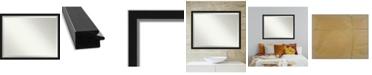 "Amanti Art Eva Silver-tone Framed Bathroom Vanity Wall Mirror, 43.12"" x 33.12"""