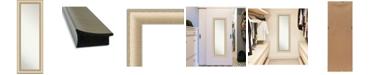 "Amanti Art Elegant Brushed Honey on The Door Full Length Mirror, 18.75"" x 52.75"""