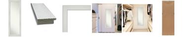 "Amanti Art Mosaic on The Door Full Length Mirror, 18.25"" x 52.25"""