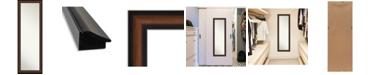 "Amanti Art Yale on The Door Full Length Mirror, 17.38"" x 51.38"""