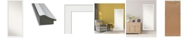 """Amanti Art Vanity Framed Floor/Leaner Full Length Mirror, 27.38"""" x 63.38"""""""