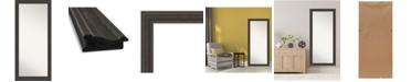 """Amanti Art Shipwreck Framed Floor/Leaner Full Length Mirror, 29.38"""" x 65.38"""""""