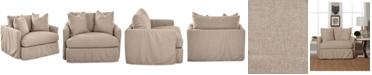 Furniture Perea Slipcover Chair