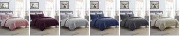 Cathay Home Inc. Ultra Soft Fleece and Microfiber Reversible Comforter Set