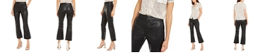 INC International Concepts INC Faux-Leather Culotte Pants, Created For Macy's