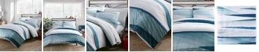 City Scene Aquarelle Twin Comforter Set