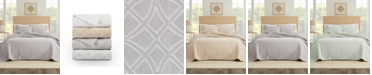 Nouvelle Home Bogart European Matalasse Coverlet Set King