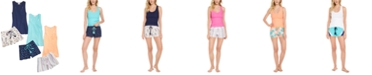 Jenni Tank & Printed Pajama Shorts Collection, Created for Macy's