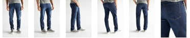 Devil-Dog Dungarees Men's Slim Fit Performance Stretch Denim Jeans, Warren Wash