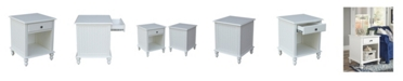 International Concepts Cottage Collection End Table with Drawer