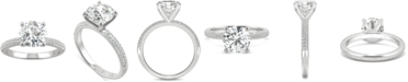 Charles & Colvard Moissanite Engagement Ring (2-1/4 ct. t.w. DEW) in 14k White Gold