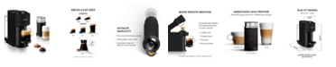Nespresso Vertuo Next Coffee and Espresso Maker by Breville, Limited Edition Matte Black with Aeroccino Milk Frother