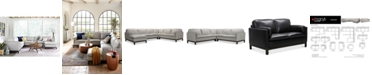 Furniture Virton Leather Sofa Collection, Created for Macy's