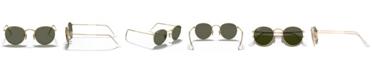 Ray-Ban Polarized Sunglasses , RB3447 ROUND METAL
