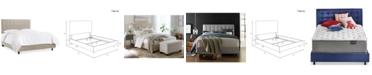 Skyline Hawthorne Button Bed - Twin
