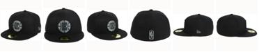 New Era Los Angeles Clippers Black Graph 59FIFTY Cap