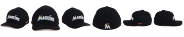 Nike Miami Marlins Ligature Swoosh Flex Cap