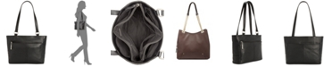 Giani Bernini Nappa Classic Leather Tote, Created for Macy's
