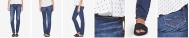 Silver Jeans Co. Elyse Mid-Rise Straight-Leg Jeans