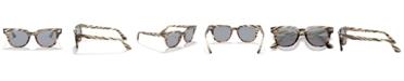 Ray-Ban Sunglasses, RB2168 METEOR STRIPED HAVANA