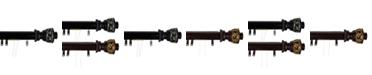 "Rod Desyne Lattice Decorative Traverse Rod w/ Sliders 30""- 48"""