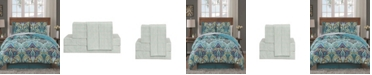 Geneva Home Fashion Misha 8 Pc Queen Bed In A Bag