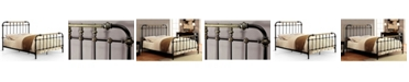 Furniture of America Cecil Twin Metal Spindle Bed
