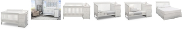 Delta Children Princeton Junction Convertible Crib and Changer, Quick Ship