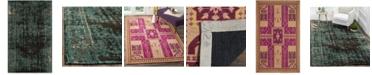 Safavieh Classic Vintage Fuchsia and Gold 5' x 8' Area Rug