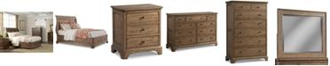 Furniture Gunnison Solid Wood Storage Bedroom Furniture Collection