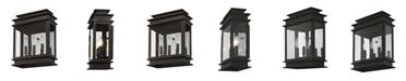 Livex Princeton 3-Light Wall Lantern