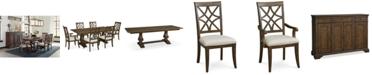 Furniture Trisha Yearwood Trisha Expandable Dining Furniture Collection