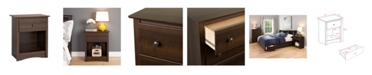 Prepac Fremont 1-Drawer Tall Nightstand