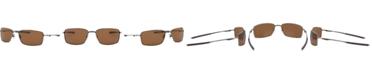 Oakley SQUARE WIRE Polarized Sunglasses, OO4075
