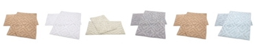 "Perthshire Platinum Collection Link 20"" x 30"" and 24"" x 40"" 2-Pc. Bath Rug Set"