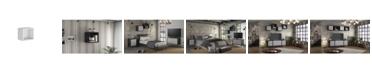 Manhattan Comfort Smart Floating Cube Display Shelf