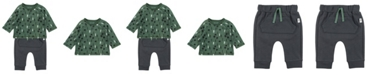 Mac & Moon Baby Boy 2-Piece Tee and Pant Outfit Set