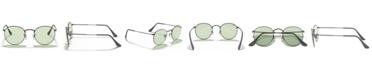 Ray-Ban ROUND METAL Sunglasses, RB3447 53