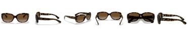 Ray-Ban JACKIE OHH Polarized Sunglasses, RB4101 58