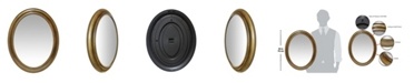 Infinity Instruments Oval Wall Mirror