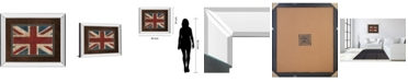 "Classy Art Union Jack by Avery Tillman Mirror Framed Print Wall Art, 34"" x 40"""