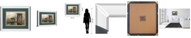 "Classy Art Manhattan Memories by Ruane Manning Mirror Framed Print Wall Art, 34"" x 40"""