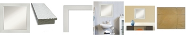 "Amanti Art Mosaic Framed Bathroom Vanity Wall Mirror, 24.25"" x 24.25"""