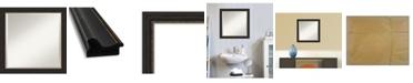 "Amanti Art Accent Framed Bathroom Vanity Wall Mirror, 23.5"" x 23.50"""
