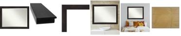 "Amanti Art Furniture Framed Bathroom Vanity Wall Mirror, 45.38"" x 35.38"""