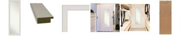 "Amanti Art Rustic Plank on The Door Full Length Mirror, 17.38"" x 51.38"""