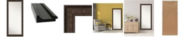 """Amanti Art Ridge Framed Floor/Leaner Full Length Mirror, 29.5"""" x 65.50"""""""