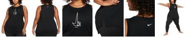 Nike Plus Size Yoga Collection Dri-FIT Tank Top